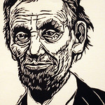 "<b>A Lincoln</b><br/> Moore ('72) (Woodcut)<a href=""//farm7.static.flickr.com/6046/6344094365_69f7bdac26_o.jpg"" title=""High res"">∝</a>"