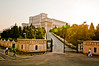 Bucharest tour bus (Madame Shapoclac) Tags: sunset house building official parliament palace largest legislative heaviest mostexpensive casapoporuluibucharesttourcityscapestravelromaniabucuresticapitolstreetslandmarkscityurbanmetropolisarchitectureautumn