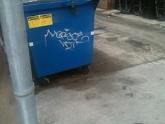 Horace WET (Dixie Destruction) Tags: wet graffiti tag crew chi horace handstyle