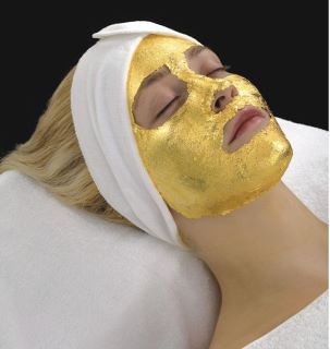gold facial at Four Seasons Resort Mauritius