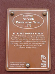 Photo of Brown plaque number 8105