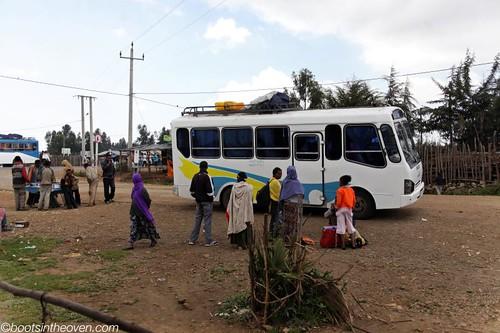 Minibus, Gashena - Lalibela