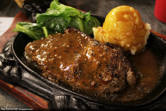Kay's Fiery Grill Express - Prime Black Peppered Steak