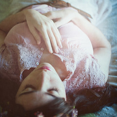 Week 46  Sleeping Beauty (Ana Lusa Pinto [Luminous Photography]) Tags: pink texture princess onceuponatime sleepingbeauty week46 ruffle 52weeks