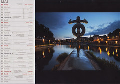 First Print (Philippe Saire || Photography) Tags: city sculpture france reflection statue night canon river eos town long exposure calendar riviere contest perspective sigma wideangle unesco 7d winner 1020mm concours nuit reflets dri ville franchecomt 2012 vauban mondial patrimoine besanon quais calendrier doubs gagnant minotaure philippesaire