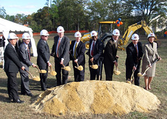 CASIC ground breaking
