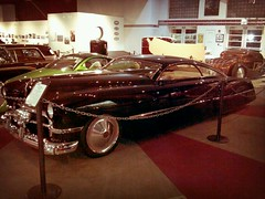 Cadzilla @ NHRA museum (52' foo) Tags: car shaved cadillac chrome chopped custom lowered kustom cadzilla