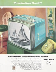 MOTOROLA TV Dealer Sales Portofolio (USA 1958)_37 (MarkAmsterdam) Tags: old sign metal radio vintage advertising design early tv portable colorful fifties mark ad tube battery engineering pickup retro advertisement collection plastic equipment electronics era handheld sheet booklet collectible portfolio eames electrical atomic brochure console folder forties sixties transistor phonograph dealer carradio fashioned transistorradio tuberadio pocketradio 50s 60s tableradio plaskon 40s kitchenradio meijster markmeijster markamsterdam coatradio tovertoom