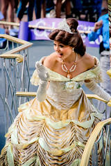 Belle (abelle2) Tags: beauty princess disney parade disneyworld belle wdw waltdisneyworld magickingdom beautyandthebeast disneyprincess disneyparade princessbelle celebrateadreamcometrueparade celebrateadreamcometrue