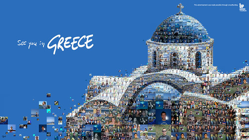 See you in Greece (Up Greek Tourism: Santorini) / Charis Tsevis