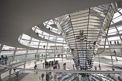 Kuppel (Hans-Jörg Aleff) Tags: berlin spiral mirror loop spiegel reichstag foster cupola dome bundestag spirale kuppel aufgang reichstagskuppel