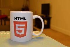 HTML5 mug