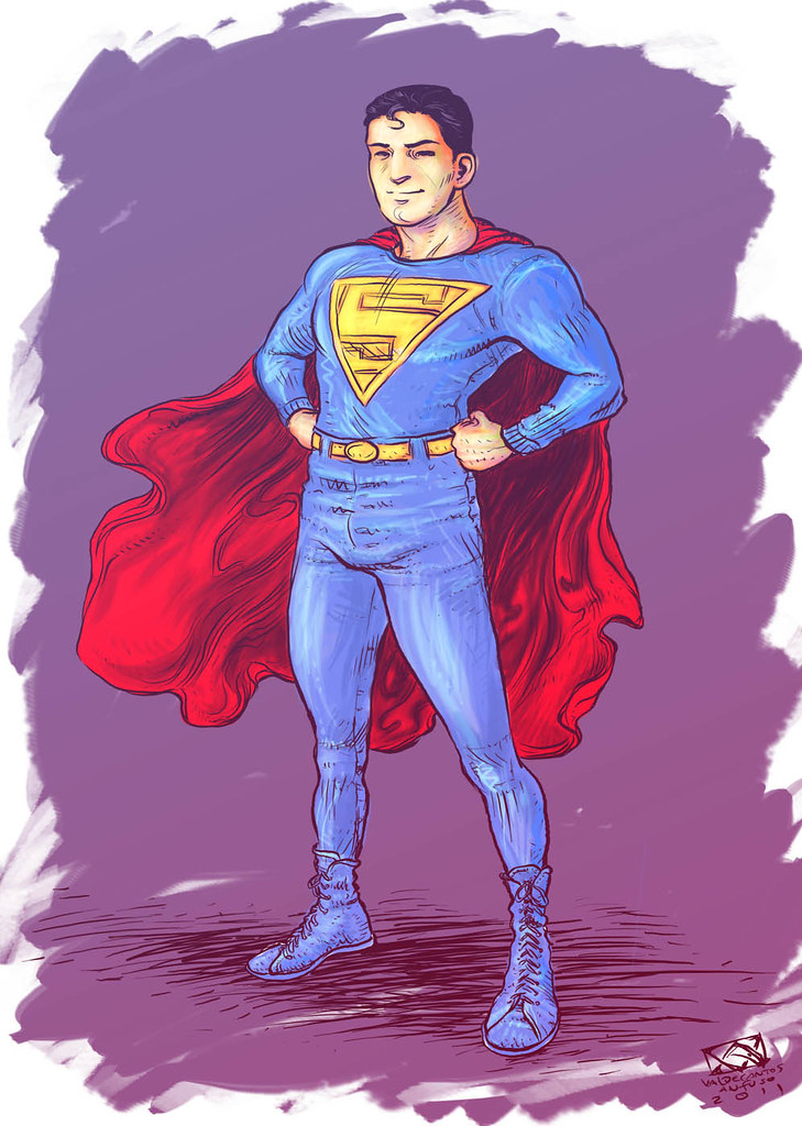 Superman 1938 (coloured)