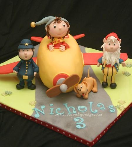 Noddy's Aeroplane Cake