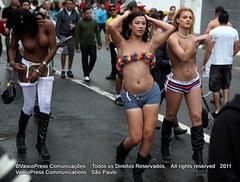 São Paulo Pride Parade Celebrates  15th Anniversary  with rhythm, glitter,  and  glamour  -   IMG_7768 (VascoPress Comunicações) Tags: brazil paulo pm são paradagay cads pmsp apoglbt spturis sãopauloprideparade paradadoorgulholgbtdesãopaulo gcmsp