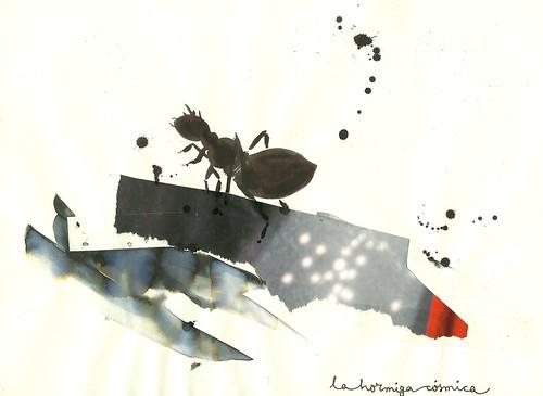 La hormiga cósmica by willy ollero*