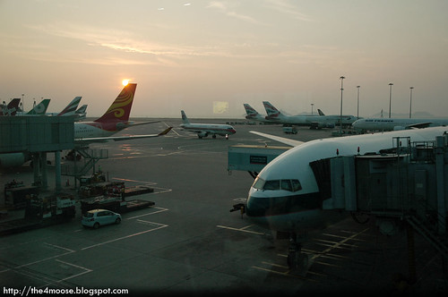 Hong Kong International Airport - Sunset