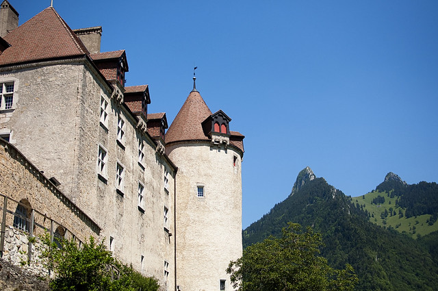 Castle at Gruyere