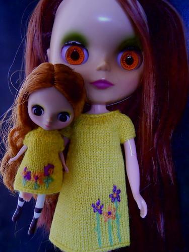 Lovely knit sun dresses.