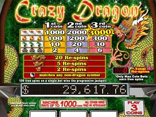 Crazy Dragon Slots Bonus Game