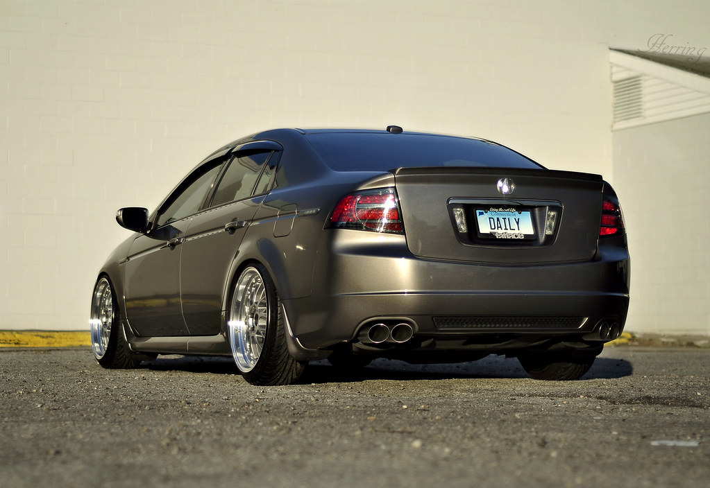 Some shots of my stanced TL-S - AcuraZine - Acura Enthusiast Community