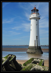Perch Rock Lighthouse, New Brighton (dave turner1) Tags: liverpool nikon birkenhead wallasey newbrighton daveturner newbrightonlighthouse perchrocklighthouse nikond700