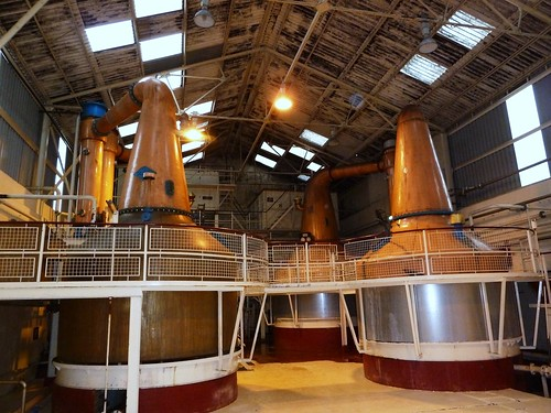 Whisky Stills at Ben Nevis Distillery