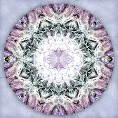 love unifying (SueO'Kieffe) Tags: digital crystal mandala meditation spiritual ascension auraliteamethyst