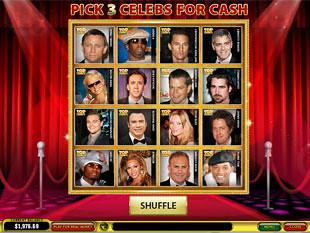 free Top Trumps Celebs slot ball bonus