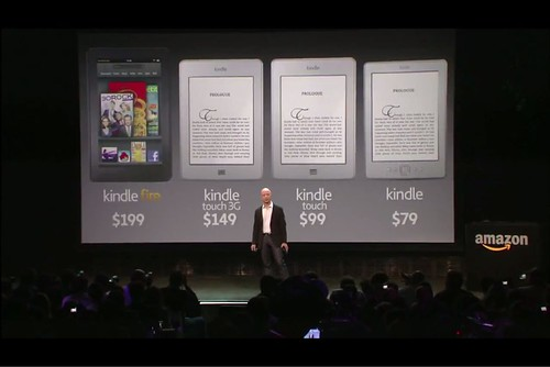 4 New Amazon Kindle Products: 28 Sep 2011