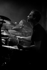 K's Choice - Koen Liekens (Guy Prives) Tags: show bw music white black concert drum live stage gig band gigs drummer kschoice koenliekens
