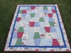 Farm Tumbler quilt