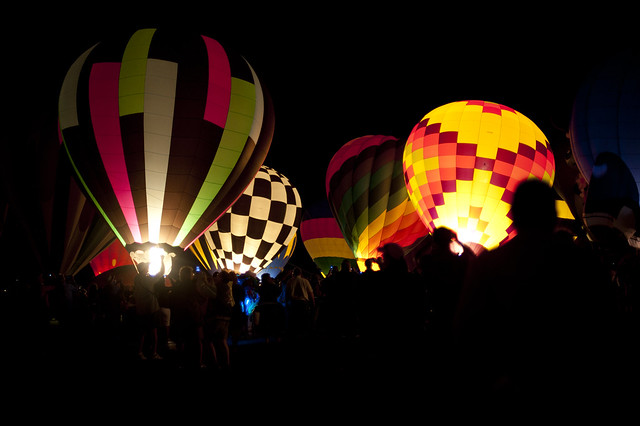 Albuquerque Balloon Glow