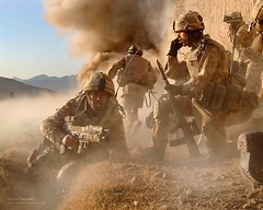 Royal Marines in Afghanistan Storm a Taliban Compound in 2007 (Defence Images) Tags: uk afghanistan radio army gun military explosion plymouth equipment devon weapon british op combat operation defense a2 defence firearm afganistan sa80 herrick bayonet assaultrifle helmand royalmarines 556mm smallarms 42cdo 42commando 40mmgrenadelauncher barikjo hecklerkochag36
