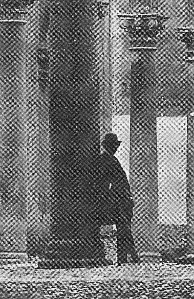 Detalle de una fotografía de Charles Clifford en el Alcázar de Toledo hacia 1858