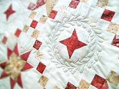 QD Strernensampler (1) (farbstoff-bridge) Tags: long arm quilting