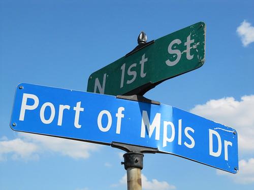 Port of Mpls Dr at N 1st St