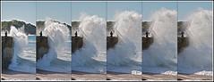 Biarritz (October 2011) -  Jrme Cousin (Jrme Cousin) Tags: sea mer big nikon wave 64 vague pays basque miramar bayonne biarritz pyrenees atlantique ocan euskal herria atlantiques rafale anglet herri d5000