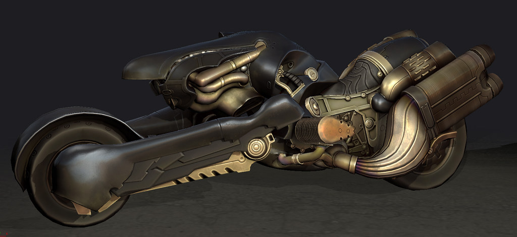 Fenrir Motorcycle Polycount