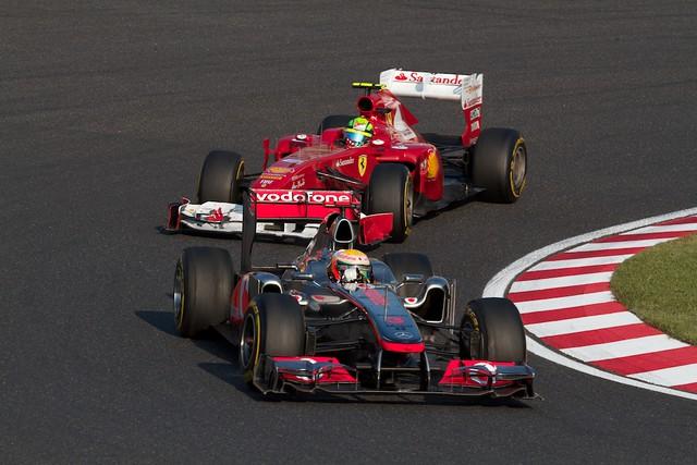 Hamilton VS Massa
