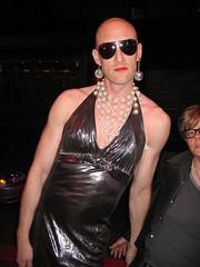 Dean Johnson, at The Velvet Mafia at Arlene's Grocery on the Lower East Side of New York City 2005 (RYANISLAND) Tags: nyc newyorkcity gay eastvillage ny newyork les lesbian dead death washingtondc punk lowereastside dean bald johnson band glbt transgender bands ev lgbt rockmusic drugs drug murder punkrock killed bisexual nightlife rocknroll pills trans dragqueen cbgb overdose rockband punkband bi cbgbs baldmen pill punks mafia dragqueens gays oxycodone punkmusic glbtq oxy baldman oxycontin queerpunk lgbtq deanjohnson thevelvetmafia balddragqueen velvetmafia mudered