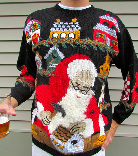 Yes! And ugly christmas sweater!