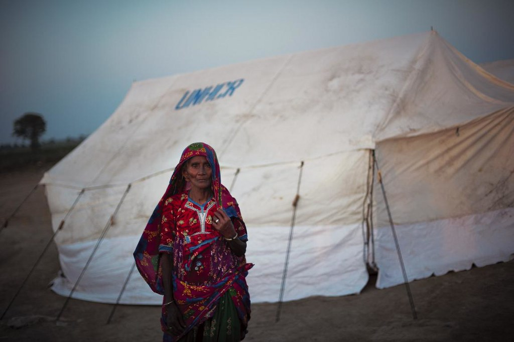 UNHCR News Story: Pakistan floods bring further pain to a life marked by loss