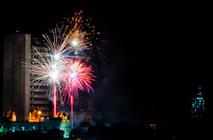 Trasladao 2011 (Leonardo Magno) Tags: brazil brasil amazon nikon fireworks pa nightlight par belm fogos fogosdeartifcio amaznia d90 crio trasladao leonardomagno brasilemimagens