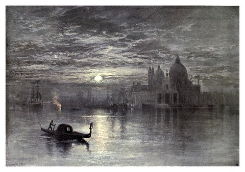 021-Santa Maria de la Salute en Venecia -Keeley Halswelles-The Royal institute of painters in water colours 1906- Charles Holme