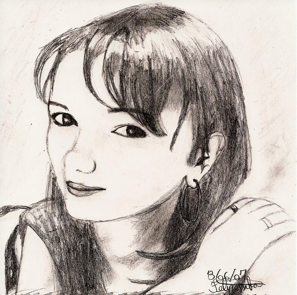 Núbia dexfelipe tags branco à retrato mulher albuquerque preto e da lápis livre