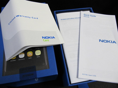 NOKIA N9 unbox 04