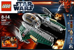 LEGO 9494 Anakins Jedi Interceptor (bcgroi) Tags: trooper rebel star fighter escape leg arc tie battle arf elite stormtrooper xwing anakin wars clone droid commando 2012 interceptor endor starfighter
