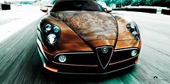 Alfa Romeo (Abdulaziz ALKaNDaRi | Photographer) Tags: red cars car canon photography eos italian italia shot mount helicopter rush alfa romeo 1855mm dslr 700 trex  2011  abdulaziz   550d  t2i  alkandari trex700n  blinkagain digitalinishootfilm abdulazizalkandari
