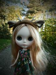 Deer little girl...